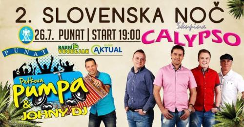 2.Slovenska noč - Punat - KRK 26.7.2019